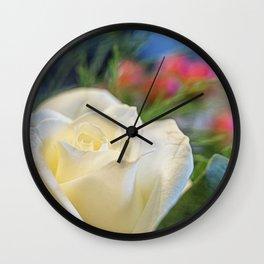 Ivory. Wall Clock