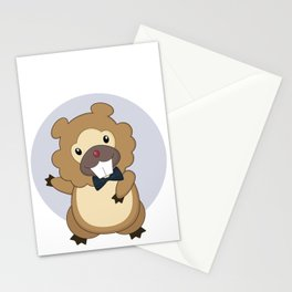Charming Bidoof Stationery Cards