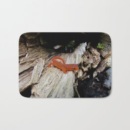 Red Newt Bath Mat