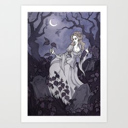 The Wild Swans (Eliza) Art Print