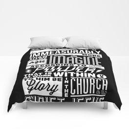 Eph 3:20 Comforters