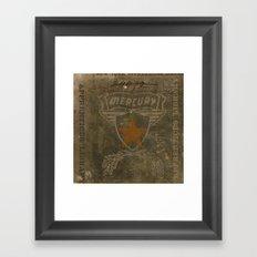 HMK Mercury Star Framed Art Print