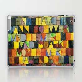 Paul Klee Once Emerged from the Gray of Night Laptop & iPad Skin