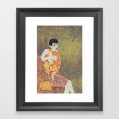 sylvia von klimt Framed Art Print