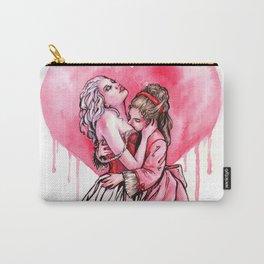 Bleeding Heart Lesbians in Love Carry-All Pouch