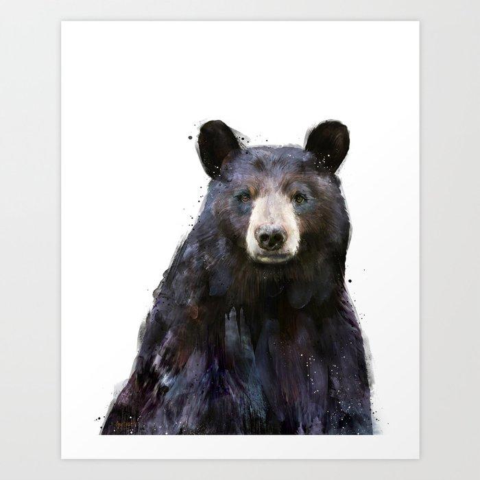 Entdecke jetzt das Motiv BLACK BEAR von Amy Hamilton als Poster bei TOPPOSTER