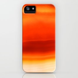 Agate inferno iPhone Case