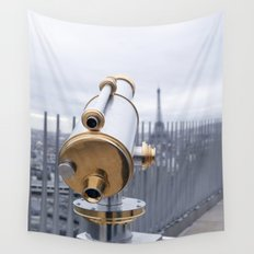 A view of Paris Wall Tapestry