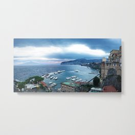 Sorrento at Sunrise Metal Print