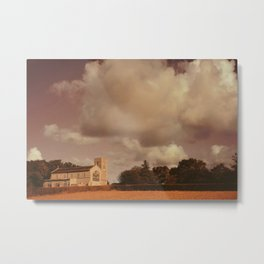 Edgefield Church, Norfolk Metal Print