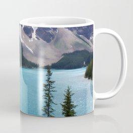 Moraine Lake Upper trail view Coffee Mug