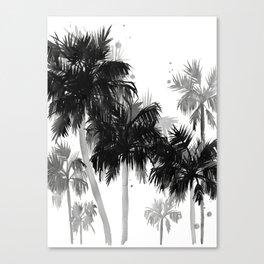 Paradis Noir II Canvas Print