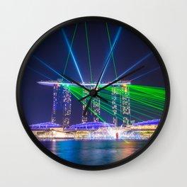 Marina Bay Sands Wall Clock