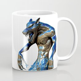 Metallic Werewolf Coffee Mug