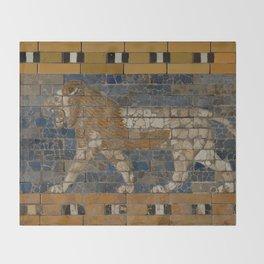 Processional Way - Babylon Throw Blanket