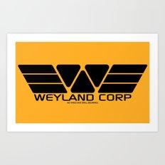 Weyland-Yutani Corp. Art Print