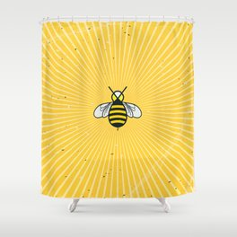 Don t worry – Bee happy – A Hell Songbook Edition Shower Curtain