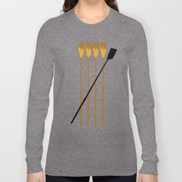 Rowing Oars 3 Long Sleeve T-shirt