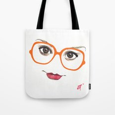 Hipster Eyes 2 Tote Bag