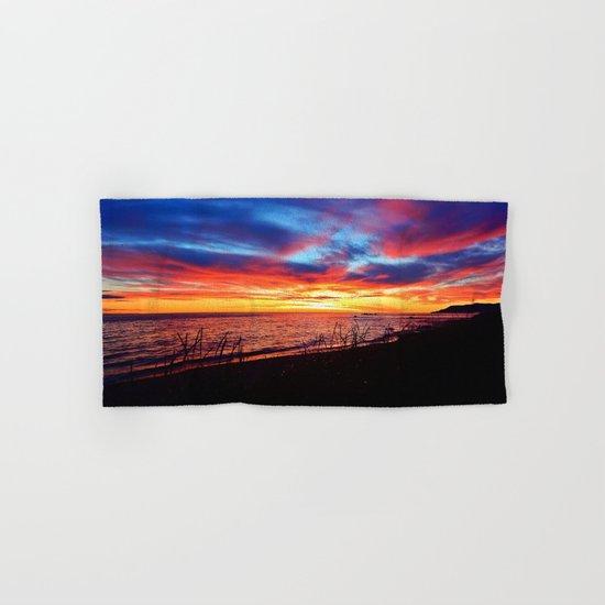 Sunrise on Sainte-Anne-Des-Monts Hand & Bath Towel