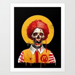 Saint Ronald Art Print