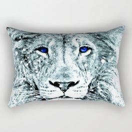 LION ABSTRACT Rectangular Pillow