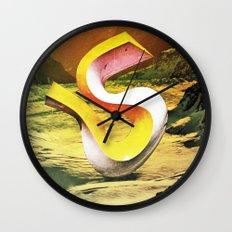 crazy egos Wall Clock