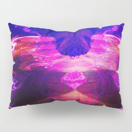 Down by the river pink Pillow Sham