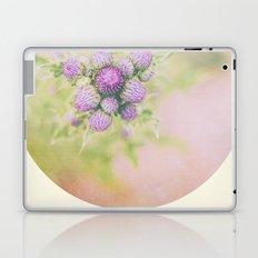 Purple Button Laptop & iPad Skin