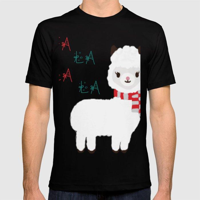 Llama Christmas Shirt.Fa La La La Llama Christmas Llama T Shirt By Swigaliciousart