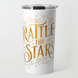 Rattle the Stars - white Travel Mug