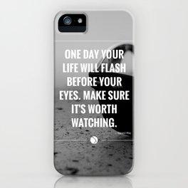 Flash. iPhone Case