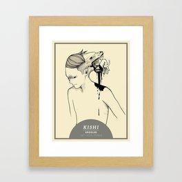 KISHI Framed Art Print