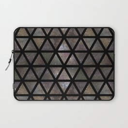 TRIANGLE GALAXY REPETITION Laptop Sleeve