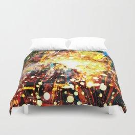 Burning Car - Dream Series 003 Duvet Cover