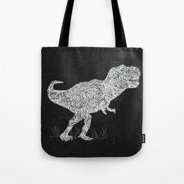 Lace Rex Tote Bag