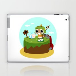 Monster Hunter - Felyne and Poogie Laptop & iPad Skin