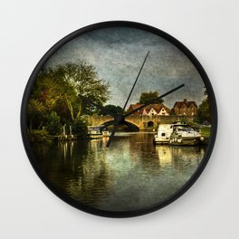 Abingdon Bridge Wall Clock