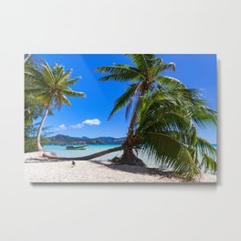 Hidden beach Metal Print