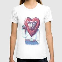 Lion's heart T-shirt