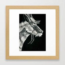 Kirin Dragon Framed Art Print