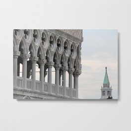 While in Venice Metal Print