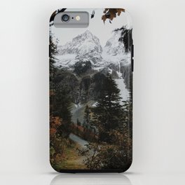 Cascade River Rd iPhone Case