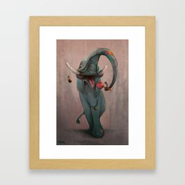Lollipop Ellie Framed Art Print