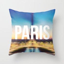 Paris - Cityscape Throw Pillow