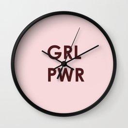 GRL PWR (version 2) Wall Clock