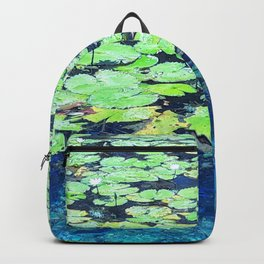 Lily Pads Backpack