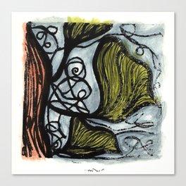 Inkgo Canvas Print