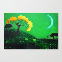 Nigh calm Canvas Print