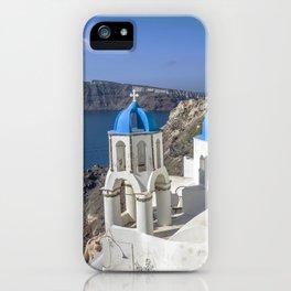 Santorini, Oia Village, Greece iPhone Case